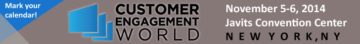 Save the date for Customer Engagement World - Nov. 5-6, 2014!